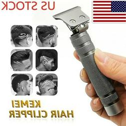 Genuine KEMEI Cordless Hair Clippers Trimmer Shaver Clipper