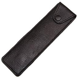 Genuine Leather Protective/Travel Case for Straight, Shavett