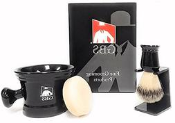 Men's Grooming Set with Shaving Soap Bowl/Mug Knob Handle, 1