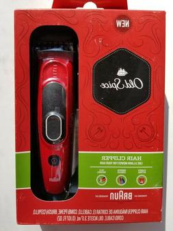 Old Spice Hair Clipper, powered by Braun
