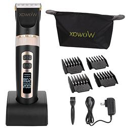 Wowax Wireless Clippers for Men Men's Hair Cutting Tools Pro