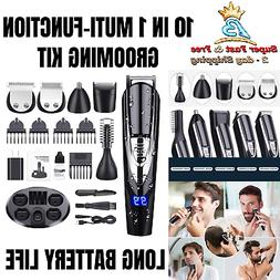 Hair Cut Grooming Kit Clipper Trimmer Barber Tools Full Body