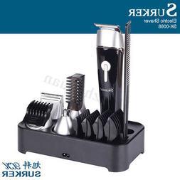 SURKER HC-006 5 in1 Multifunction Electric Men Shaver Beard