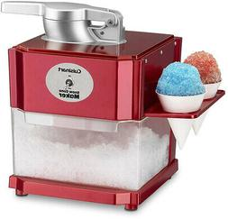 Ice Crusher Snow Cone Maker Machine Commercial Shaver Nostal