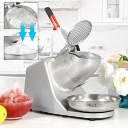 300W Ice Shaver Machine Snow Cone Maker Shaved Icee 143 lbs