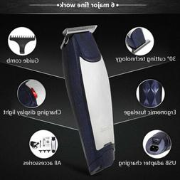 KEMEI Rechargeable Wireless Hair Trimmer Clipper Remover Sha