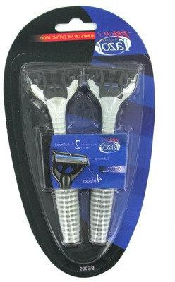 2-Pack 4-Blade Men's Disposable Razors 24 pcs sku# 364204MA