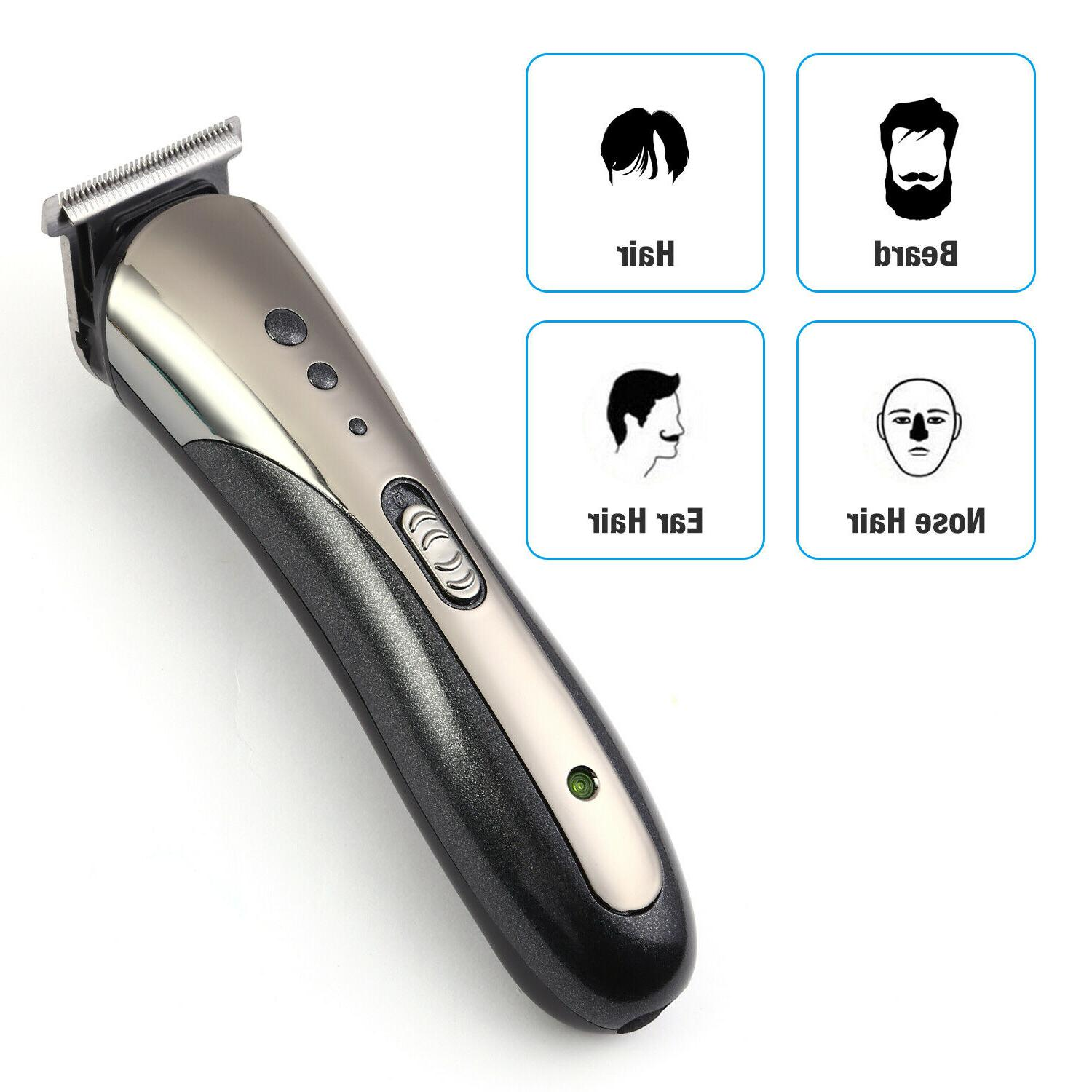 Professional Male Hair Trimmer Cutter Cordless