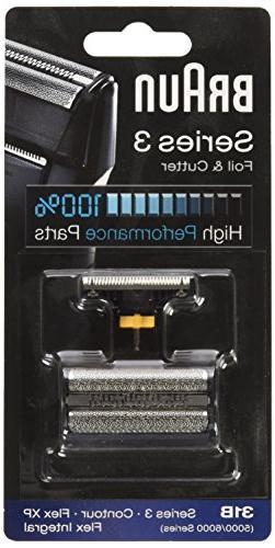 31B 5000/6000 Contour Flex XP Integral Shaver Foil Head Combi Black