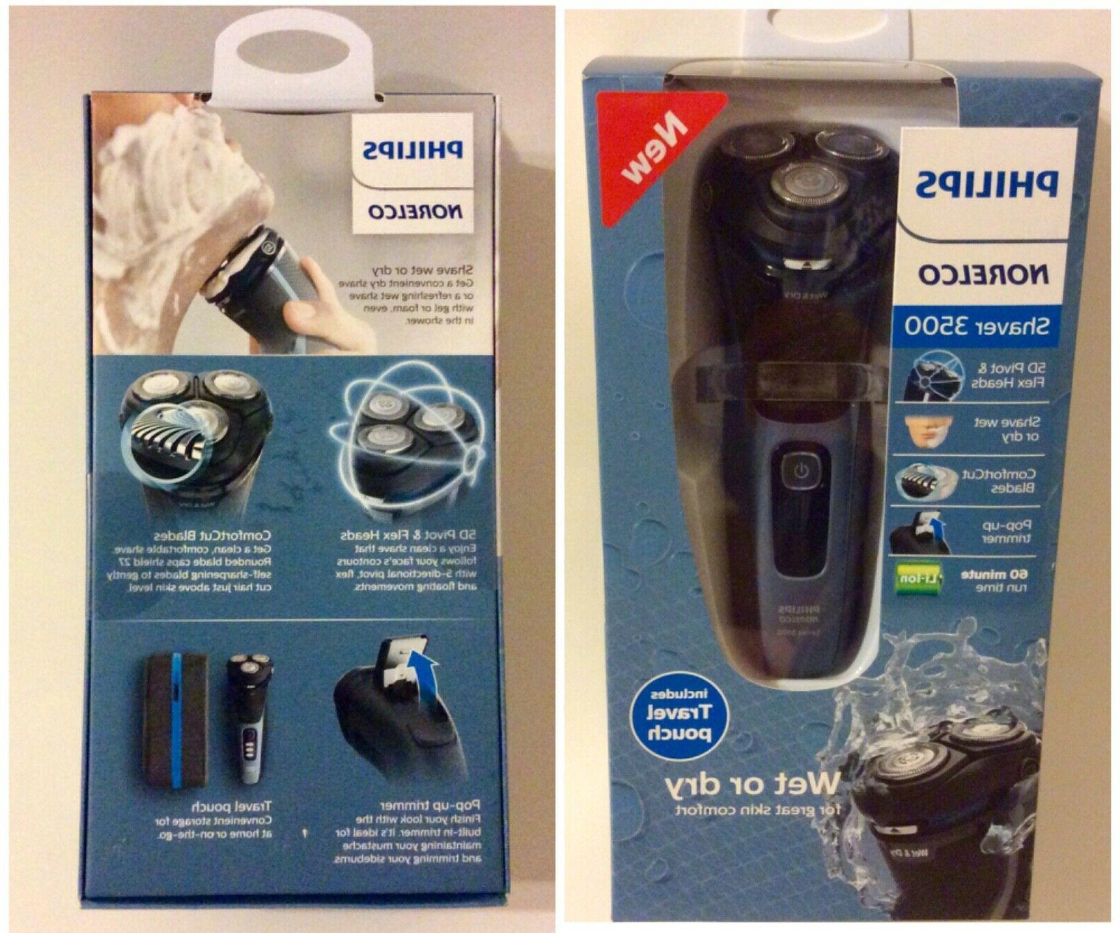 Philips Norelco - 3500 series Wet/Dry Electric Shaver - Stor