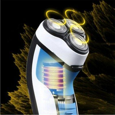 Men's Electric Shaver 3D Floating Rotary Three-headed Rechar