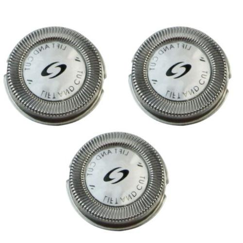 3x Replacement Shaver Head Blade For Norelco HQ58