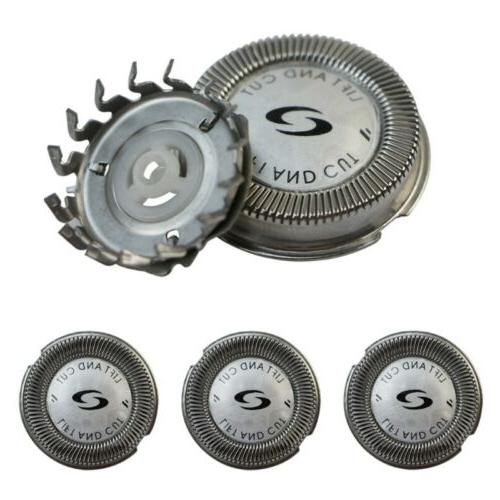 3x replacement shaver head blade cutters
