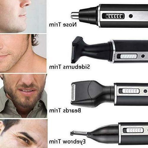 4 in 1 rechargeable hair beard eyebrow
