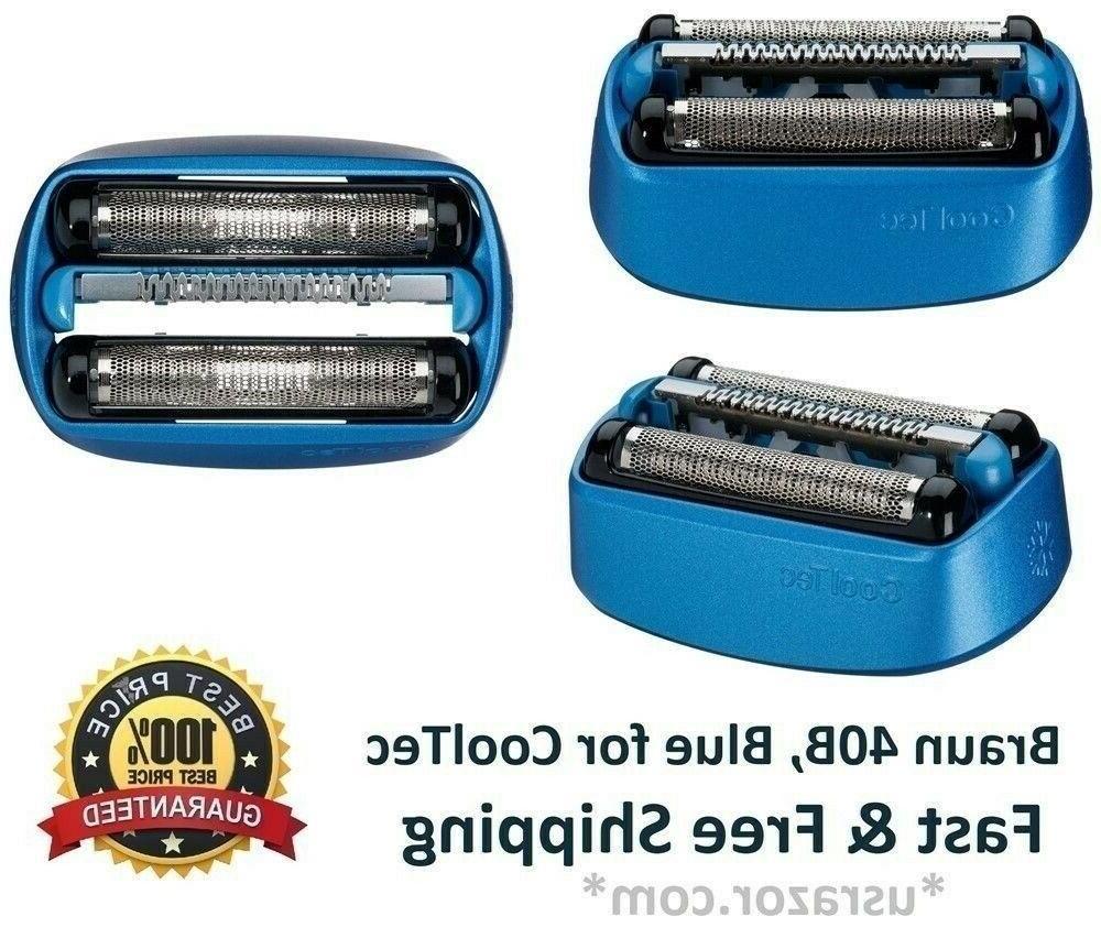 Braun 40B Foil Cutter Shaver Authentic Razor