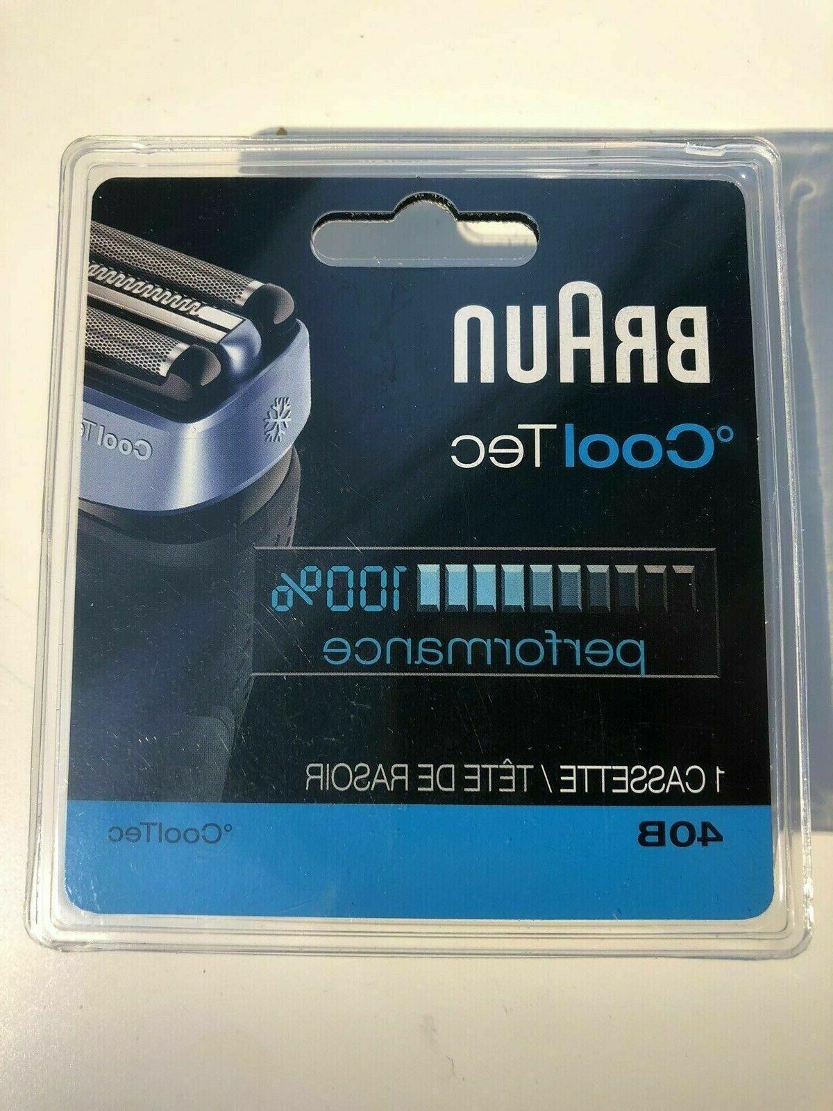 40b cooltec cassette foil cutter shaver 100