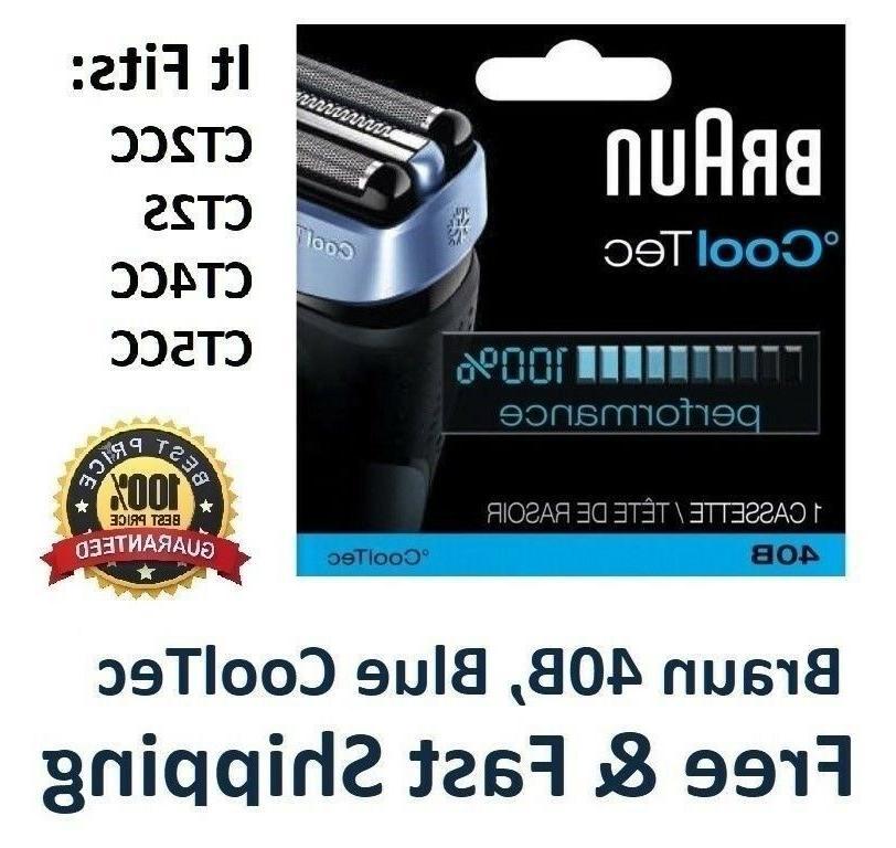 40b foil cutter shaver head cooltec series