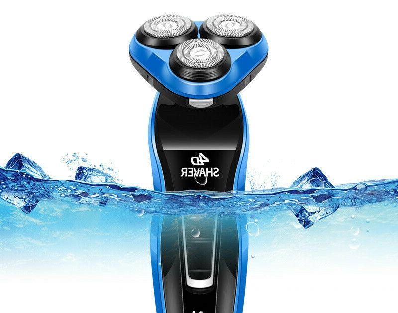 5 IN 1 Rotary Shaver Bald Beard Trimmer