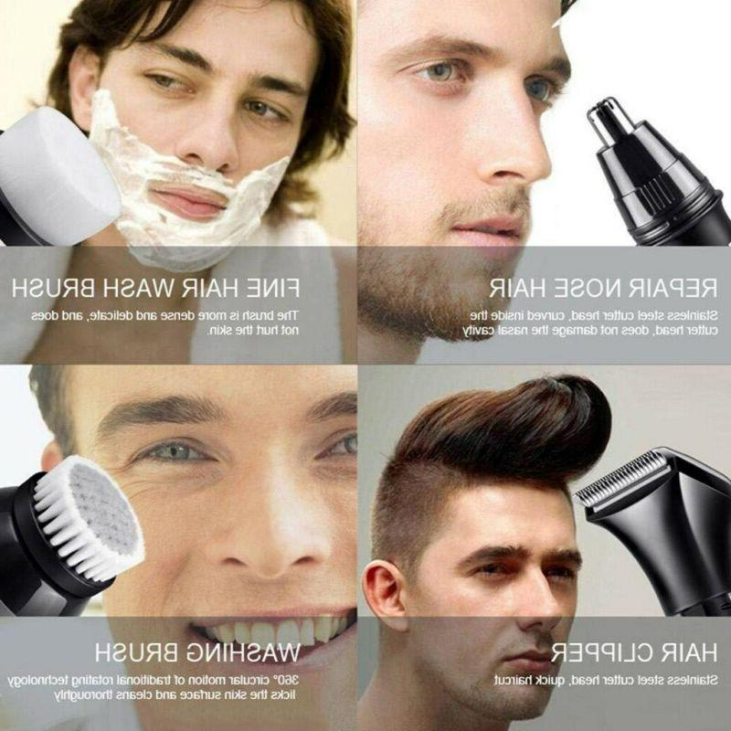 Rechargeable 4D Shaver Bald Beard Trimmer US