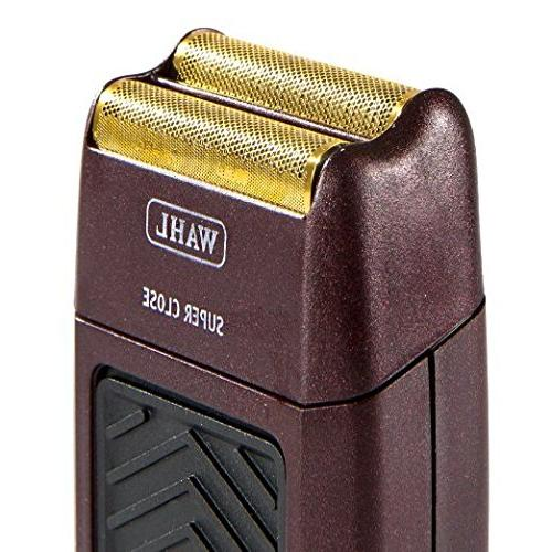 Wahl 5-Star Series Rechargeable Shaver/Shaper #8547 - Up to 60 of Run Time Bump-Free, Ultra-Close Shave