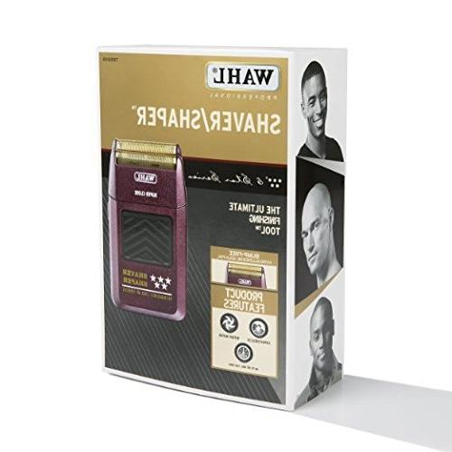 Wahl Professional Rechargeable Up to 60 Minutes of Time - Bump-Free, Shave