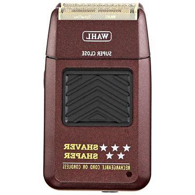 Wahl Star Shaver/Shaper with Bonus Bump-Free Inside