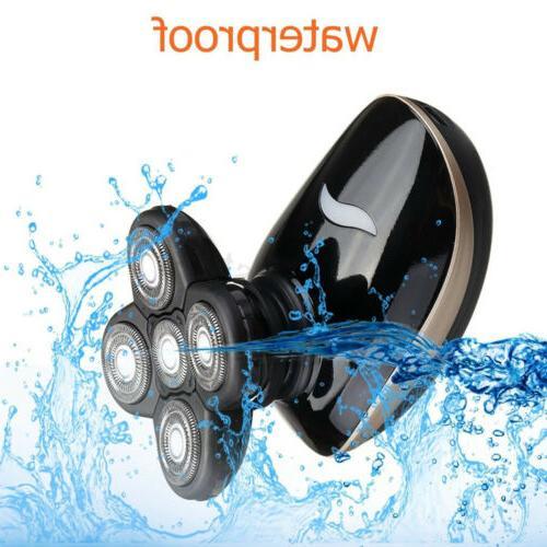5In1 4D Rechargeable Razor Shaver Waterproof Trimmer