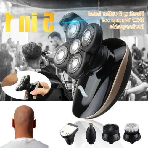 5In1 Rechargeable Razor Shaver Waterproof Trimmer