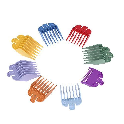 8 colorful hair clipper limit