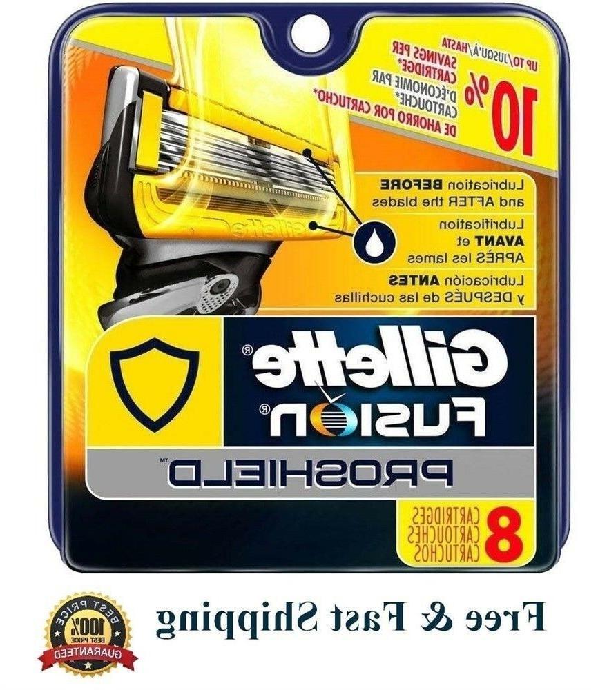 8 Proshield Razor Flexball Refill Shaver