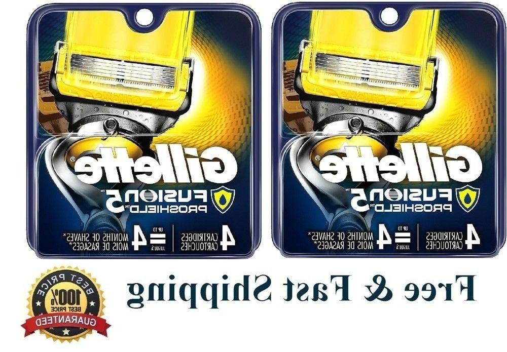 8 proshield fusion flexball razor cartridges flex