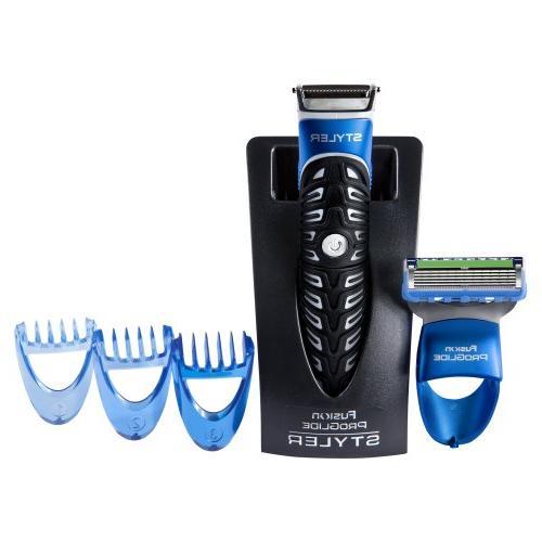 All Purpose Gillette Styler: Beard Trimmer, Razor & - Fusion Razors for Men Styler