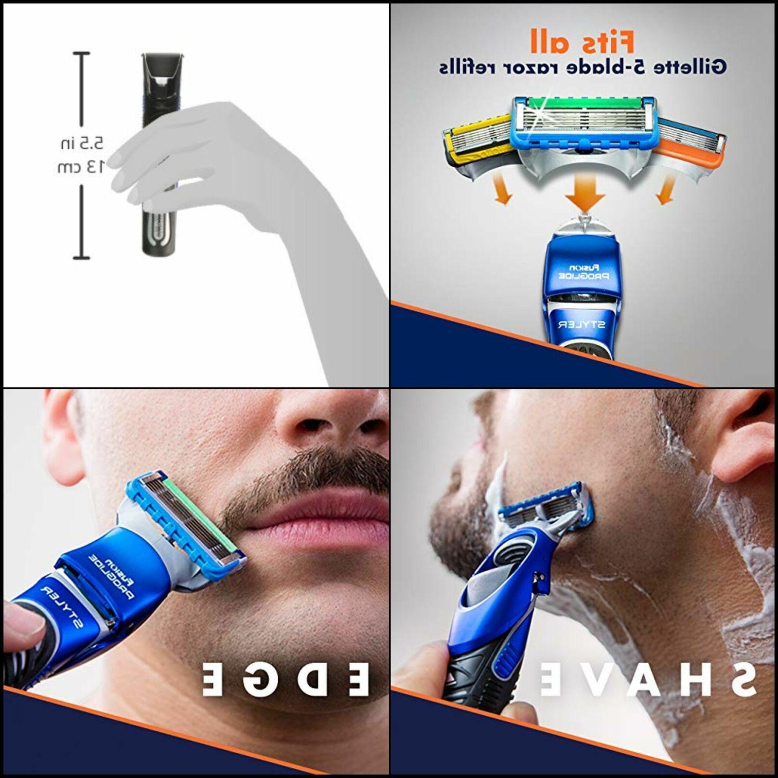 All Purpose Gillette Styler: Beard Trimmer, Men's Razor & Ed