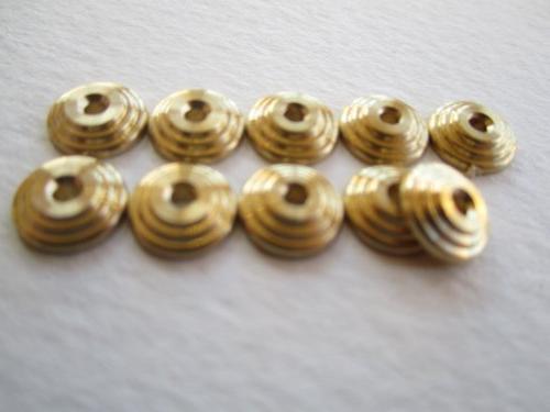 Bulls Eye Collars - Brass  for Straight Razor Repair