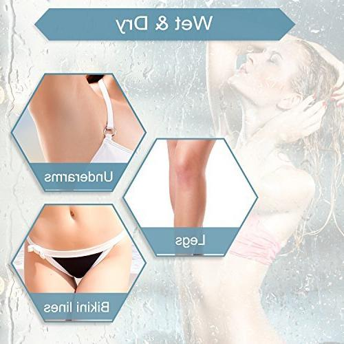 Electric for - Bikini Body Hair Removal Underarms Dry LED Light