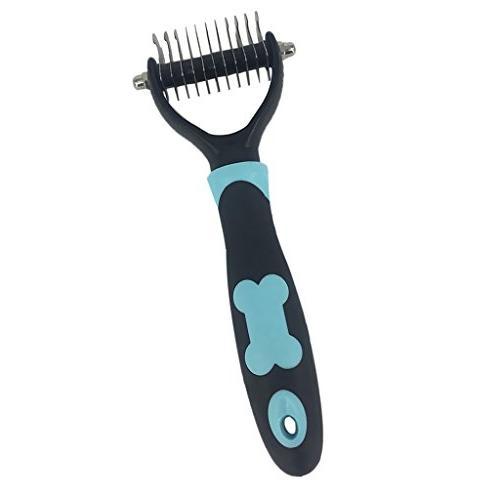 Homyl Puppy Dog Cat Hair Haircut Brush Comb Razor Fur Shaver