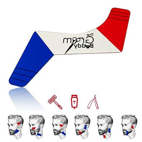The Groom Buddy Beard Shaping Tool Template Beard Shaper Gui
