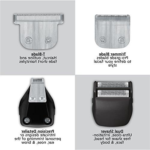 Wahl Trimmer, Ion Kit Rechargeable Trimmers, Clippers, and Electric Brand Used by Professionals #9854-600