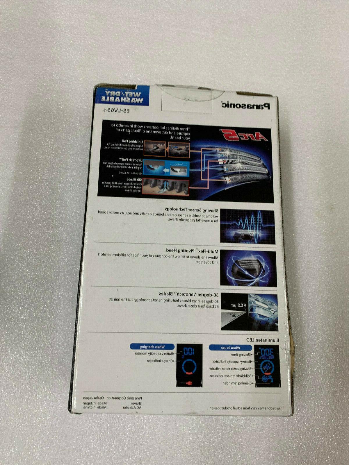 Panasonic Cordless Shave Electric Razor | ES-LV65-S