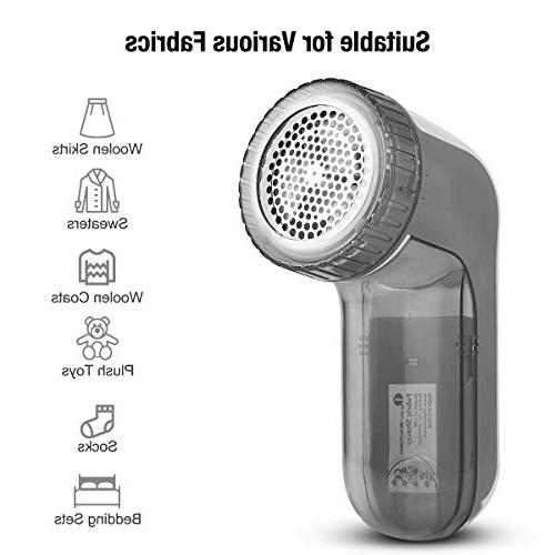 Beautural Portable and Remover 2-Speeds, Height, Dual Protection Clothes, Quickly Remove Fluff, Bobbles
