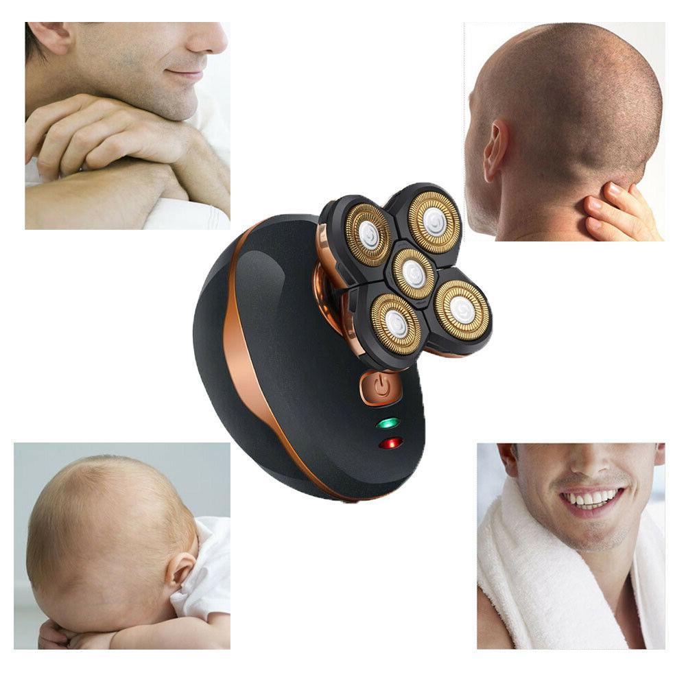 Best Bald Head Remover Razor Smooth Skull Cord Cordless Wet Dry