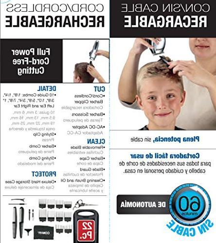 Conair Cord/Cordless Rechargeable Haircut Cutting