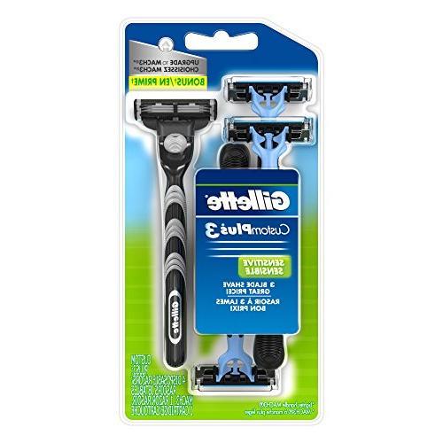 Gillette Disposable Razors, Sensitive, 4 razors