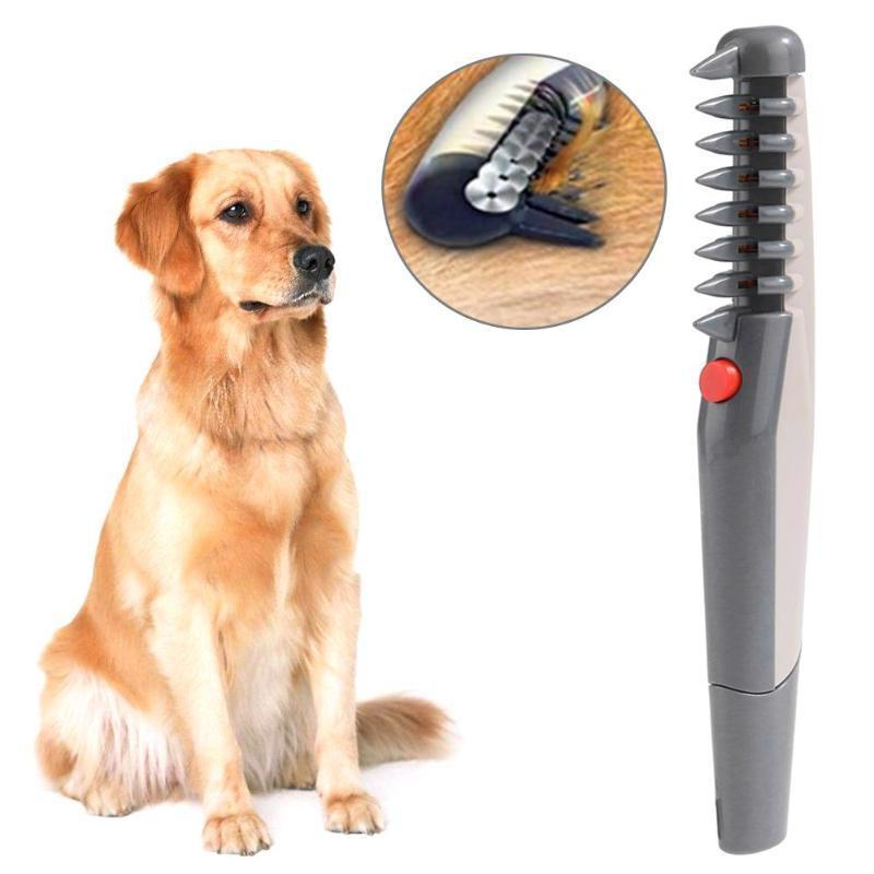 Electric Dog Hair Grooming Comb Shaver Cat Trimmer Knot Anim