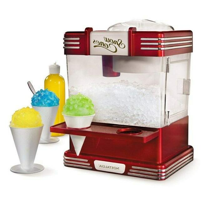 Electric Ice Crusher Shaver Machine Snow Cone Maker Shaved B
