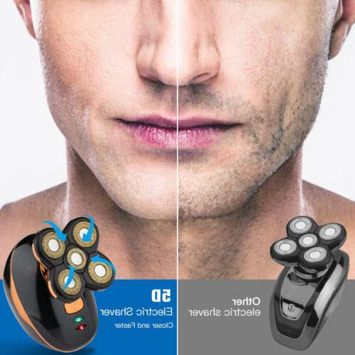 Electric Razor Shaver Wet Beard Remover Cordless
