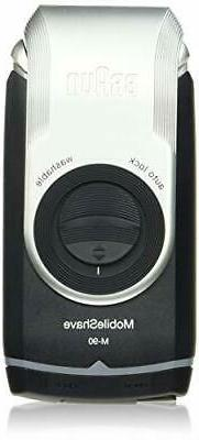 Electric Razor for Men by Braun, M90 Mobile Electric Shaver,