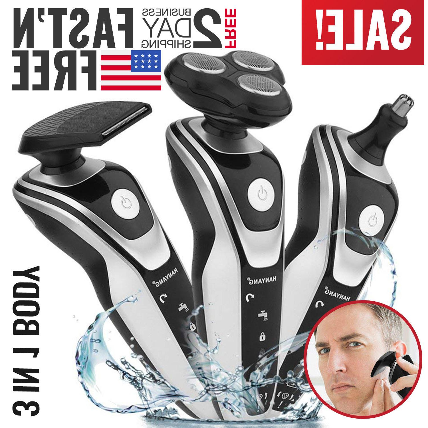 electric razor shaver for mens wet dry