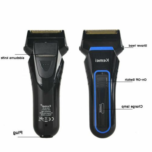Electric Machine Rechargeable Razor Trimmer