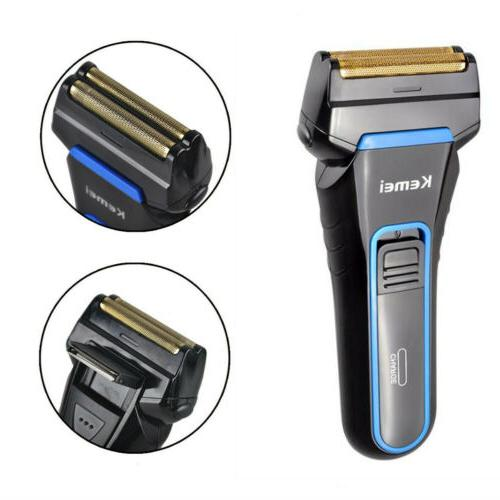 electric shaver foil shaving machine cordless rechargeable